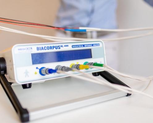Die Bioelektrische Impedanz Analyse (BIA) Ernährungsberatung Salzburg